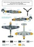 S.B.S D48014 Messerschmitt Bf-109G-2 in Finnish Service Decal set 1/48_