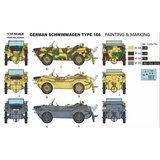 HERO HOBBY KITS H35001 GERMAN SCHWIMMWAGEN TYPE 166 1/35_