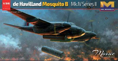 HK MODELS HKM- 01E015 De Havilland Mosquito B Mk IV Series II (01E15)