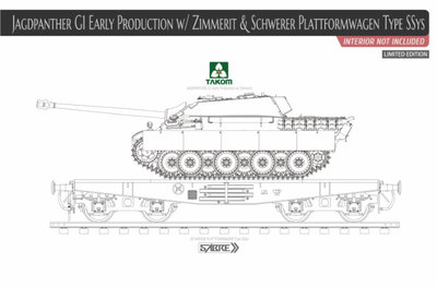TAKOM 2125X JAGDPANTHER G1 EARLY PRODUCTION 1/35