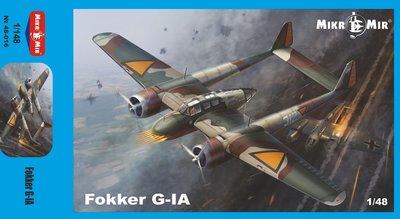 MIKROMIR 48-016 FOKKER G-IA 1/48