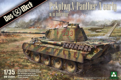 DAS WERK 35009 Pzkpfwg.V Panther A early 1/35
