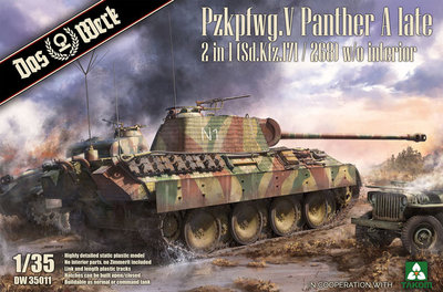 DAS WERK 35011 Pzkpfwg.V Panther A LATE 1/35