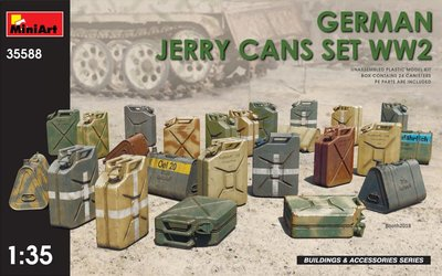 MINIART 35588 GERMAN JERRY CANS SET WW2 1/35