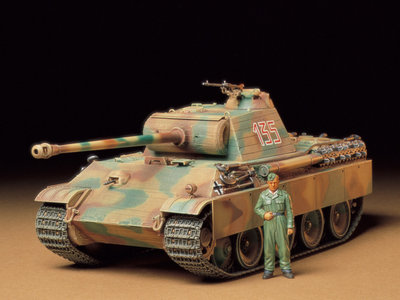 TAMIYA 35170 GERMAN PANTHER TYPE G 1/35