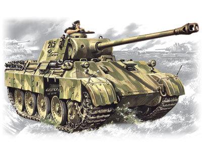 ICM 35361 Pz.Kpfw. V Panther Ausf. D 1/35