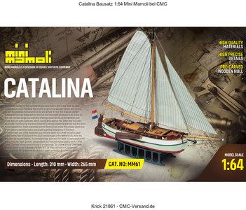 MINI MAMOLI MM61 CATALINA 1/64
